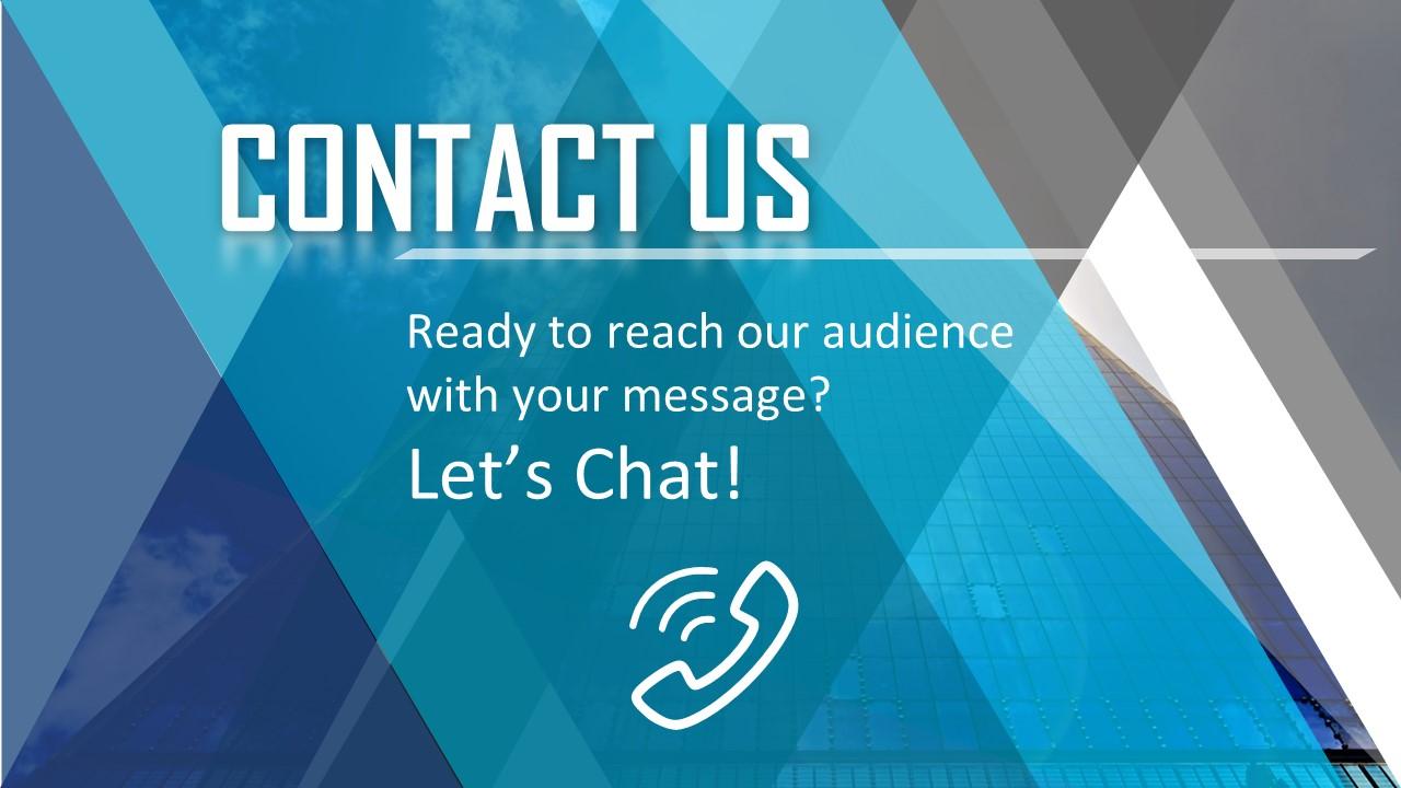 PowerPoint Contact Slide Design