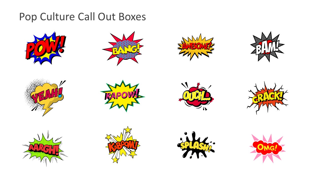 Callout Boxes Slide Template