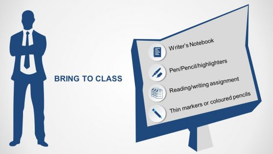 Editable PowerPoint Course Requirements