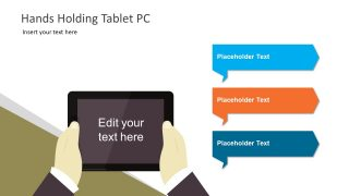 Infographic Presentation of Tablet Device