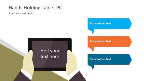 Editable Tablet Style Clipart PowerPoint