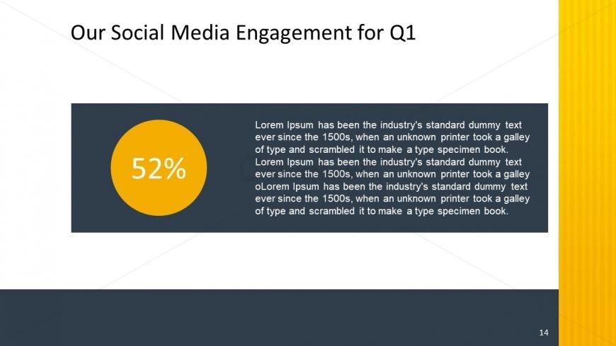 PPT Social Media Slide