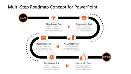 Journey Mapping Powerpoint Templates