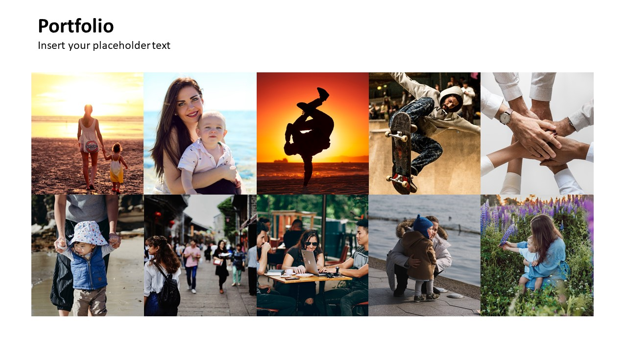 PowerPoint Picture Placeholders Template