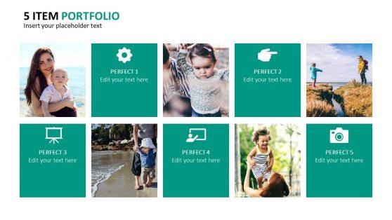 Presentation of Image Portfolio