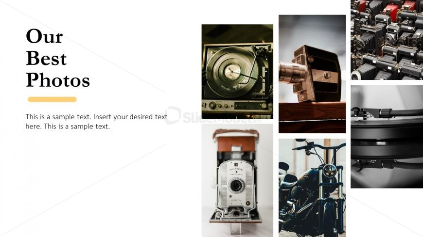 Images Photographic Slide Template