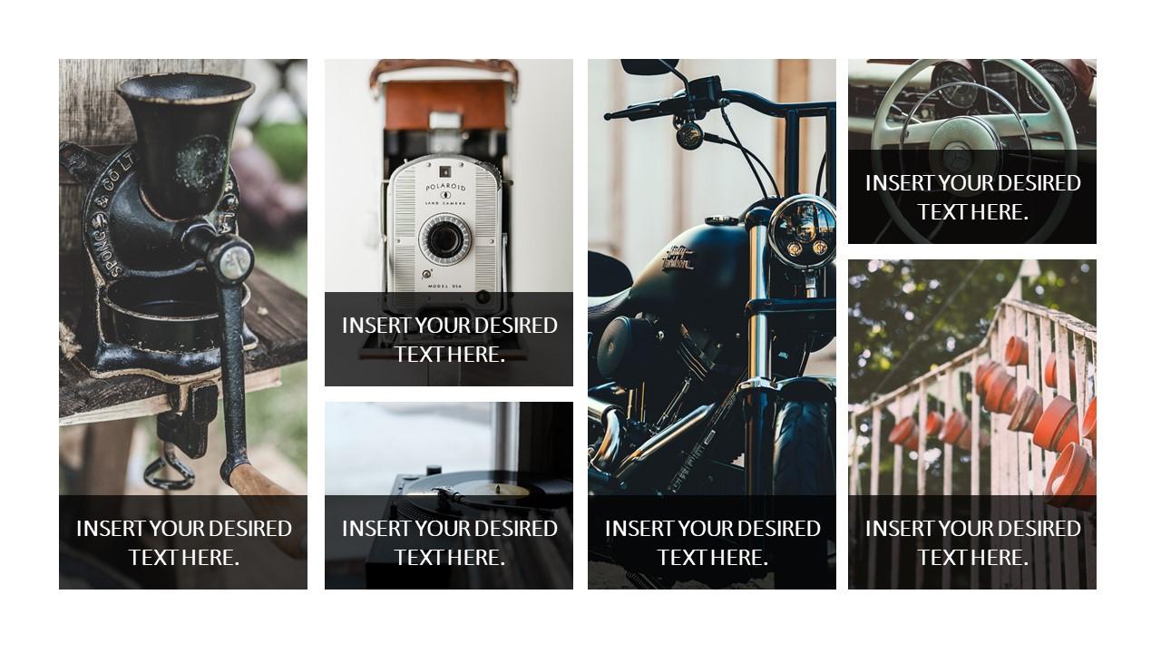 Portfolio of Images in PowerPoint