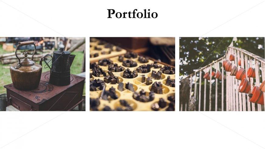 Slides of Minimal Portfolio