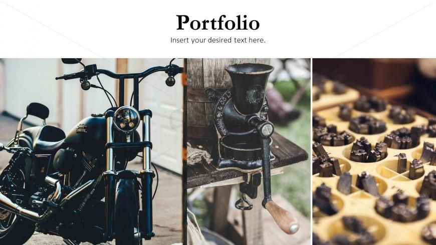 Company presentation Protfolio