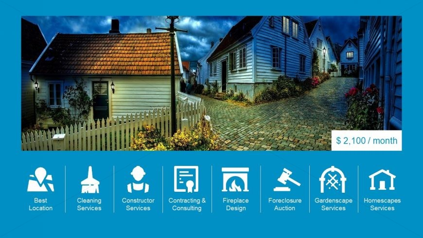Icons and Clipart for Real Estate