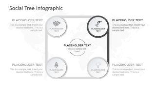 4 Steps Infographic Diagram
