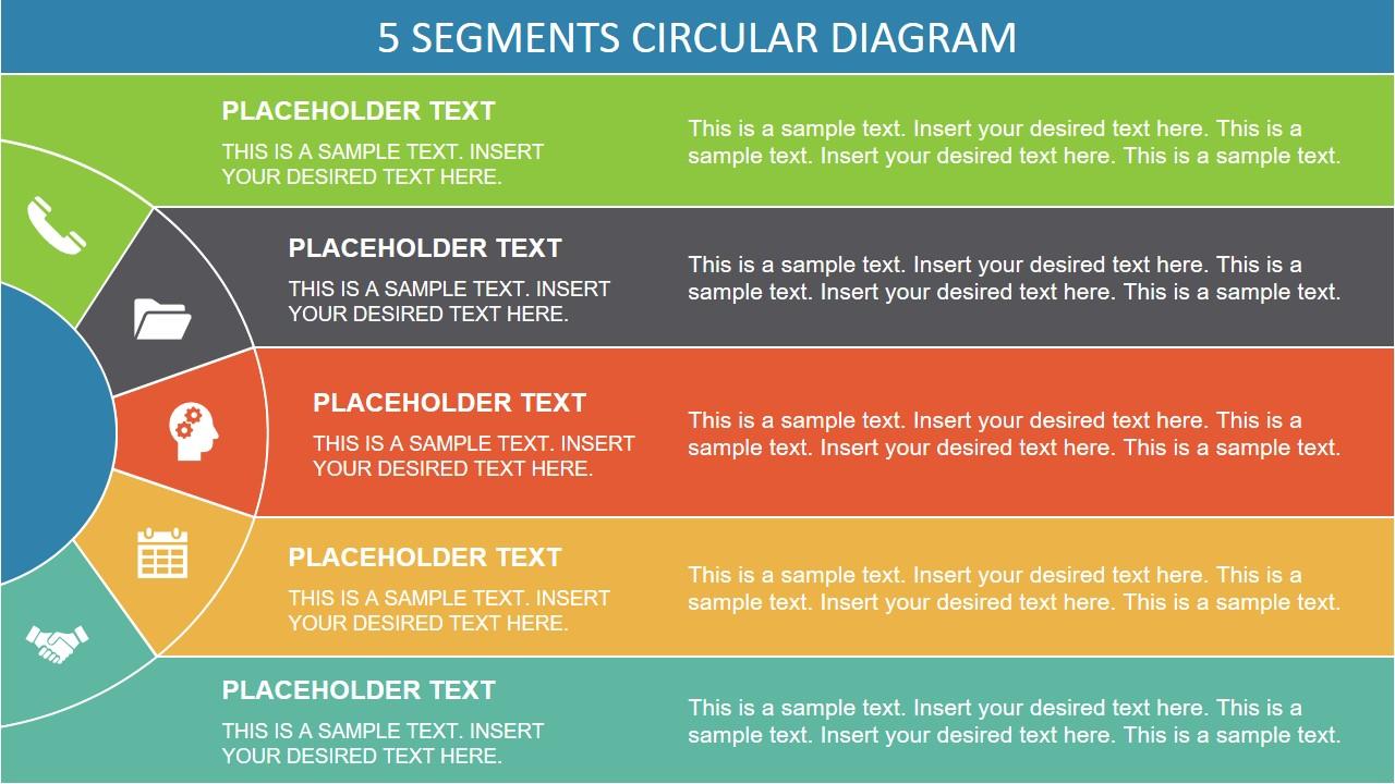 Infographic Semi Circle Diagram