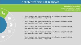 Horizontal Template of Semi Circle