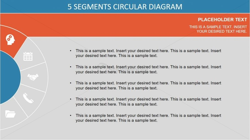 Colorful PowerPoint of Semi Circle