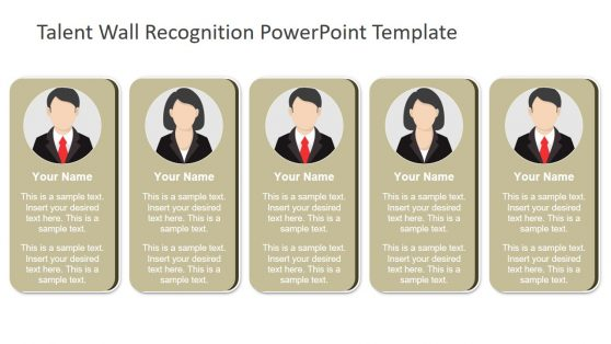 PowerPoint of Talent Recognition Design