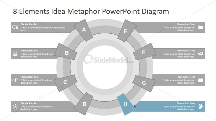 8 Elements Metaphor Diagram Template
