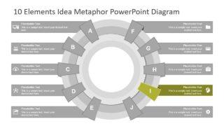 PPT Concept Comparison Diagram