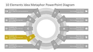 PowerPoint Diagram of Circular Design