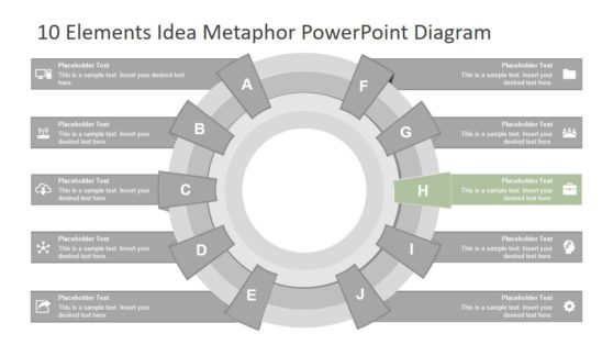 Flat PowerPoint Business Diagram