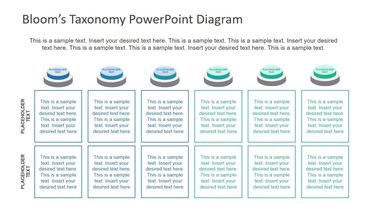 Button Shape 6 Segment PowerPoint