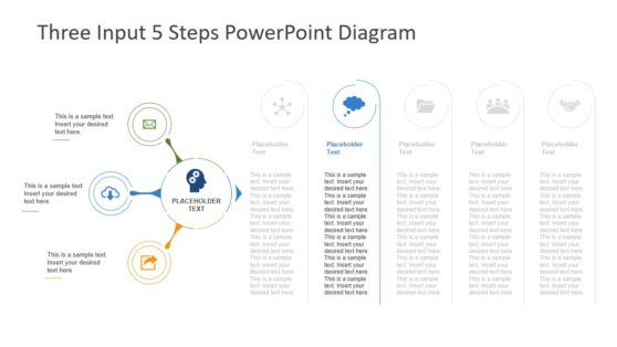 Process Flow of Input and Output PowerPoint