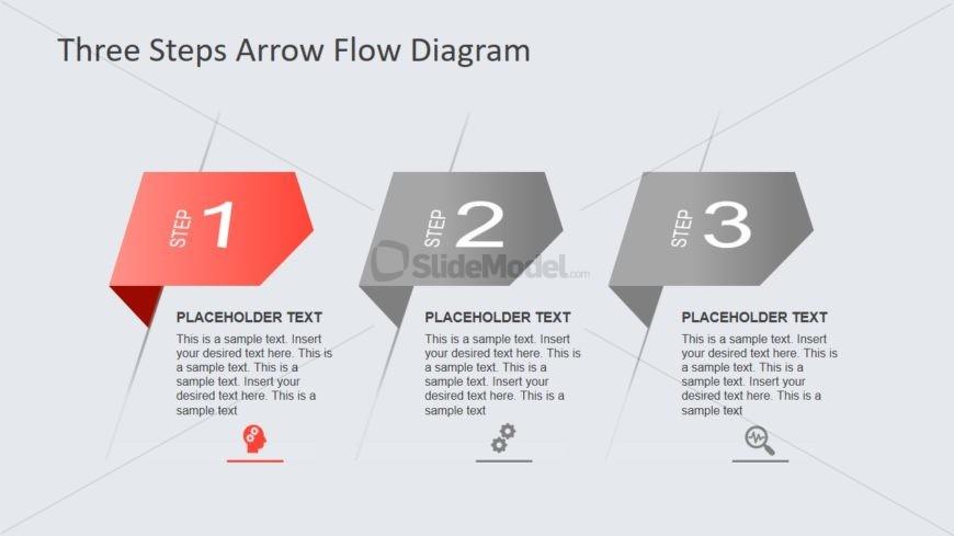 Slide of Arrow Shape Segments