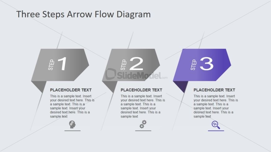 PowerPoint Arrow Flow Diagram