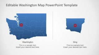 Zoom in Map PowerPoint