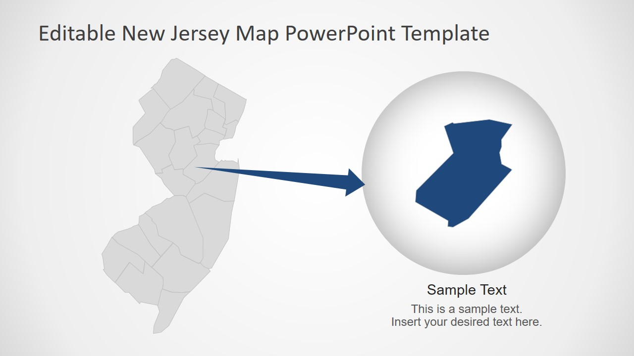 Outline New Jersey Template