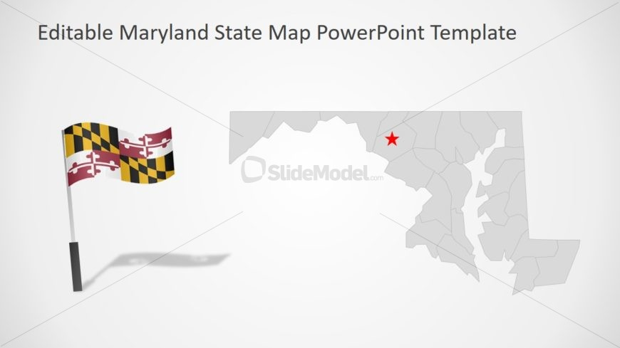 PPT Map of Maryland