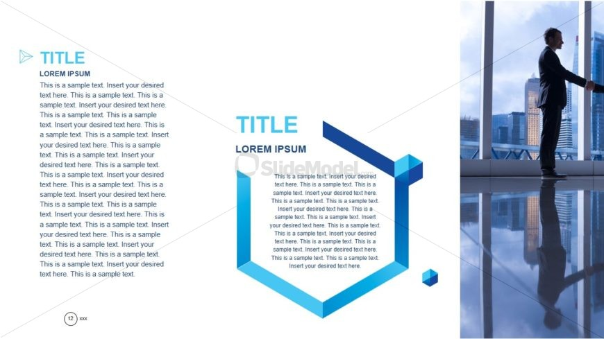 Business Information PowerPoint Layout