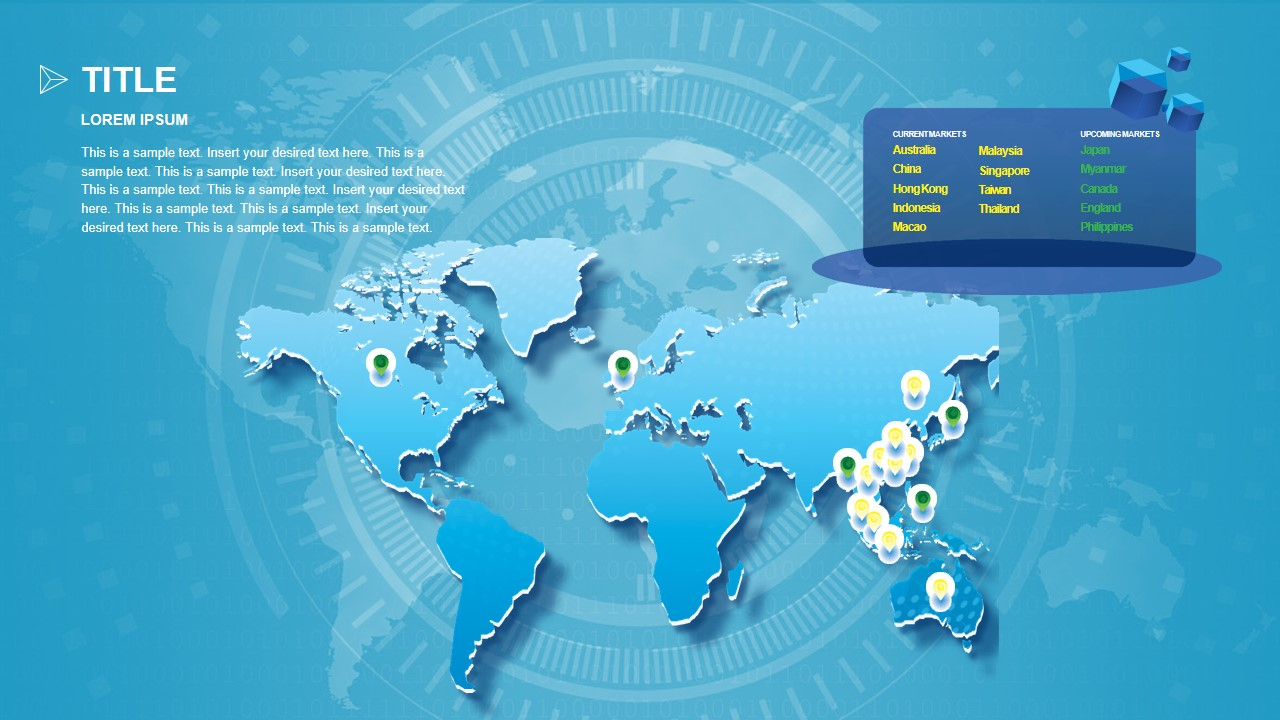 Map Presentation of Technology Business
