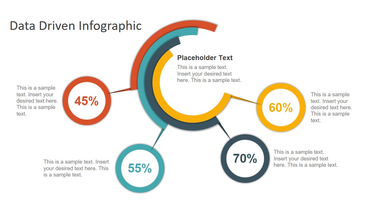 Infographic Data Driven Chart Template
