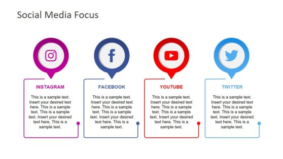 4 Social Media Platform Analysis PPT