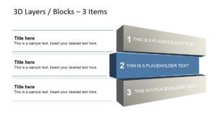 Business 3D Block Diagrams