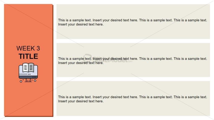 Flat Vector PowerPoint Timeline