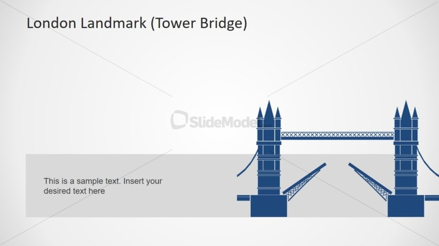 PPT Map Template of London