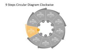 Editable Circular Diagram Design