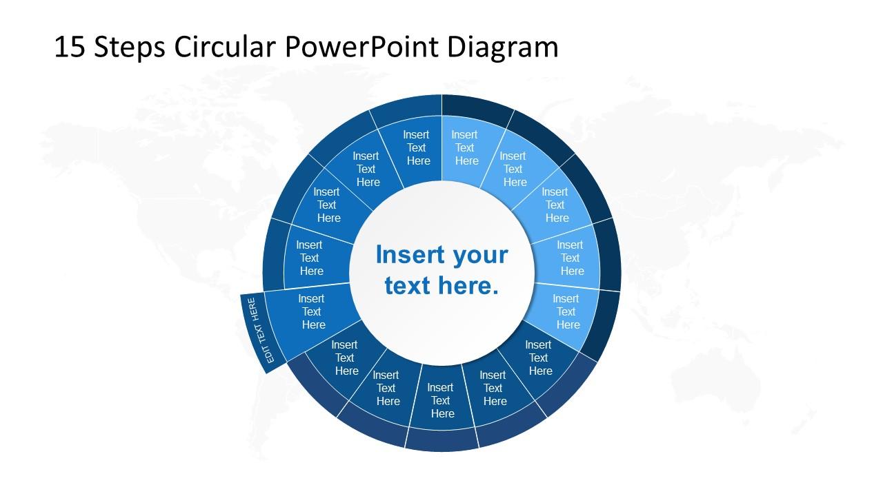 PowerPoint Circular Diagram Step 11