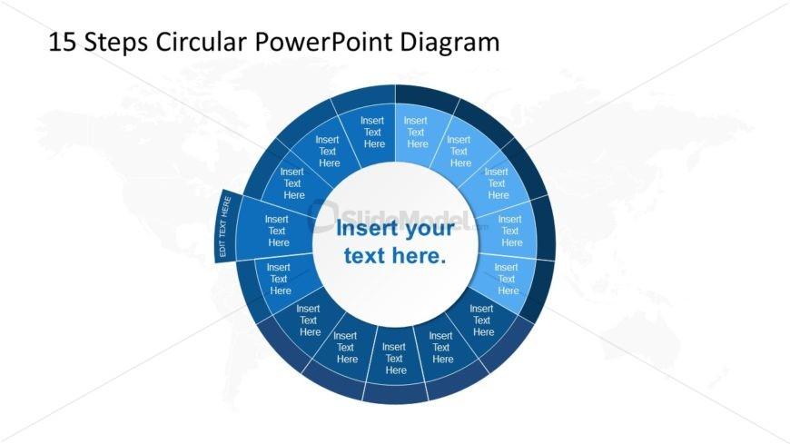 PowerPoint Circular Diagram Step 12