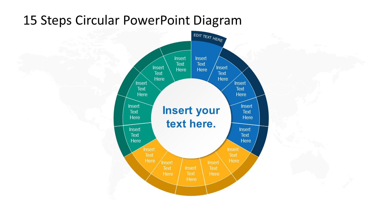 Step 2 Circular PowerPoint Diagram