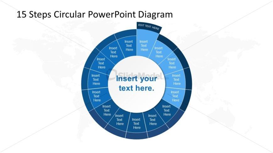 PowerPoint Circular Diagram Step 1