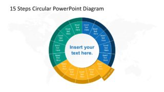 Step 6 Circular PowerPoint Diagram