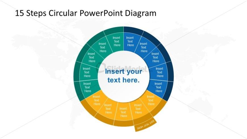 Step 7 Circular PowerPoint Diagram