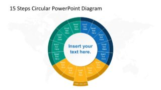 Step 8 Circular PowerPoint Diagram