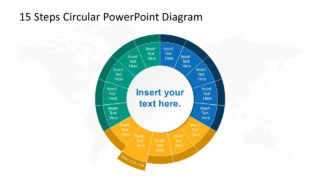Step 9 Circular PowerPoint Diagram