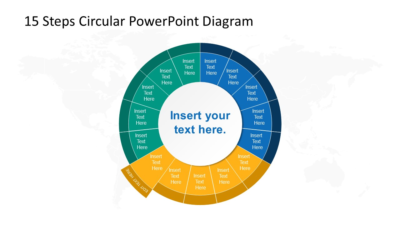 Step 10 Circular PowerPoint Diagram