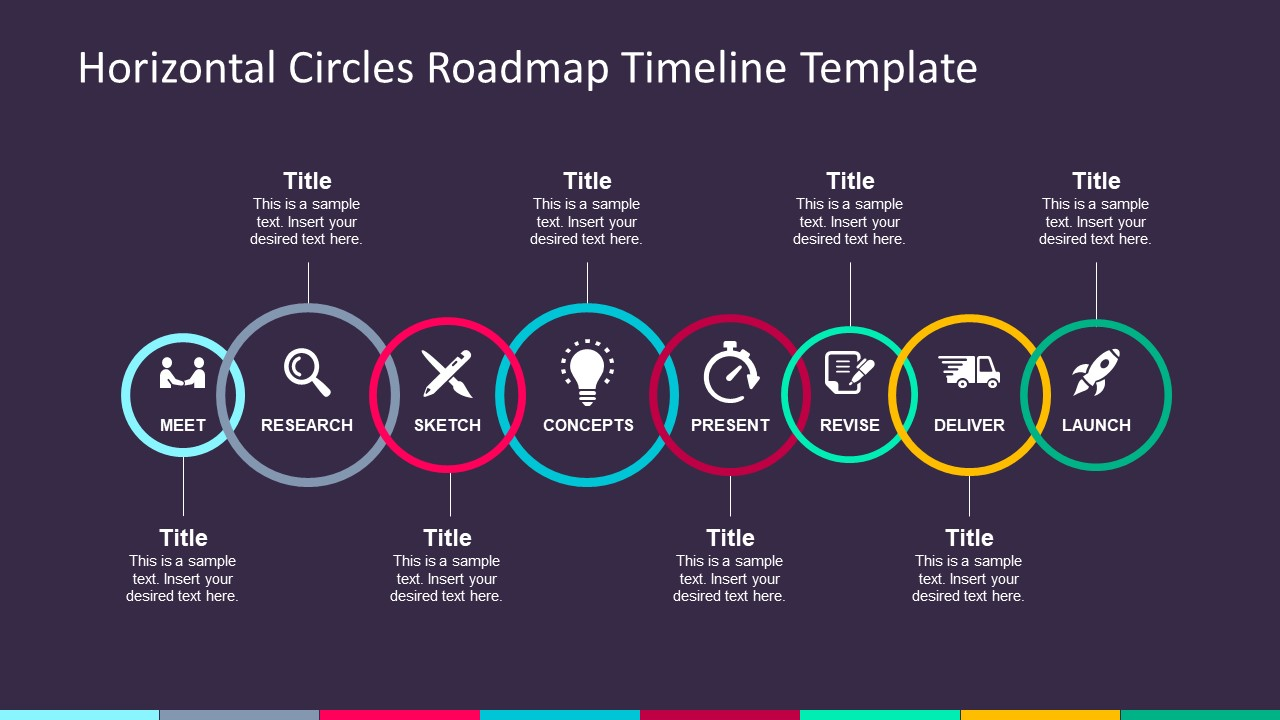 Infographic Timeline Business PowerPoint
