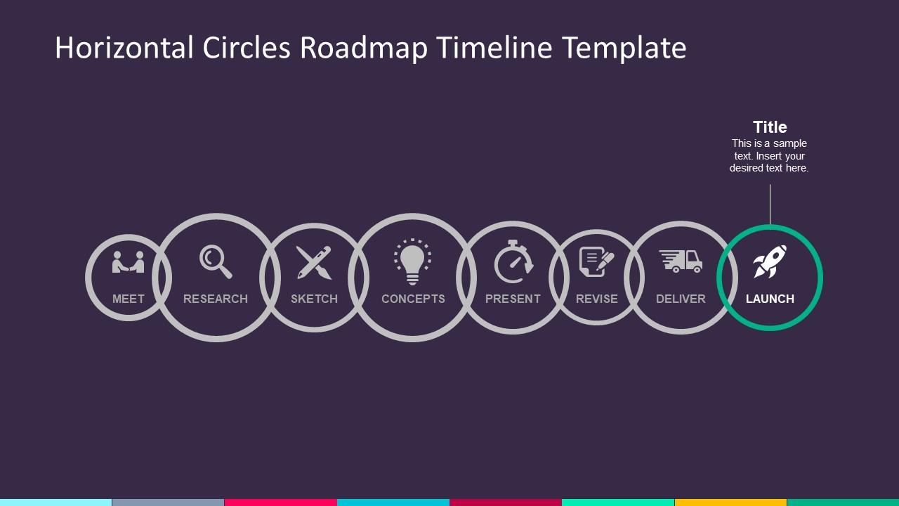 PPT Circular Milestone Business