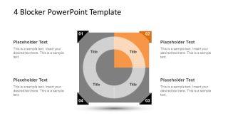4 Blocker Style PowerPoint Slide 14